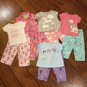 Carter's pajamas bundle